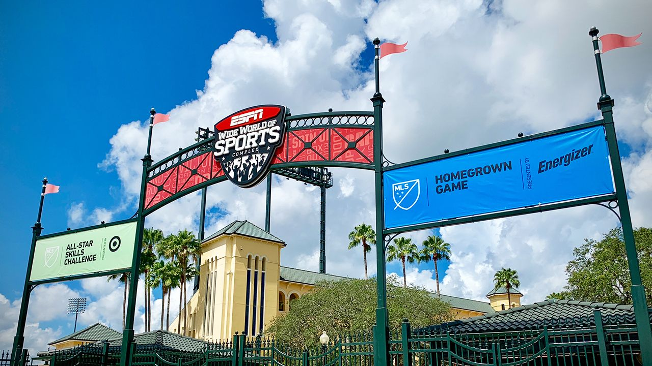 Celebrating Mls All Star Week At Espn Wide World Of Sports Complex World Of Sports Sports Complex Orlando City Soccer