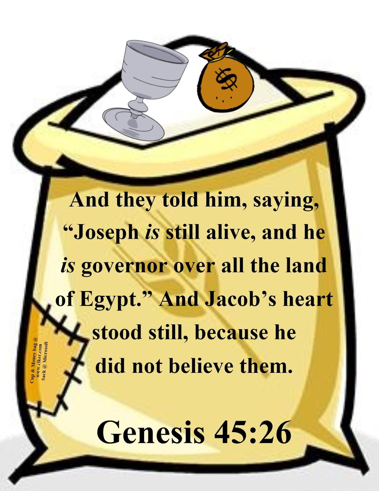 Bible Fun For Kids Genesis Joseph Reunited With His