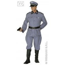 Mens German Soldier Costume Outfit for WW2 WWII War Army Fancy Dress
