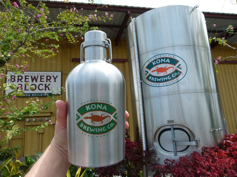 Stainless Steel Growlers for Home Brewing