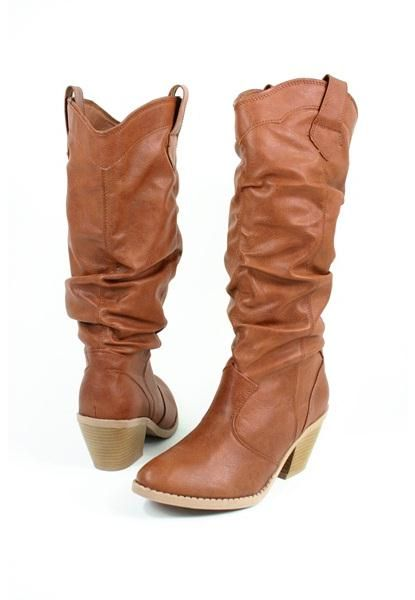9716e9aa5a4 Slouch cowboy boots. Laid back style meets comfort in the slouch ...