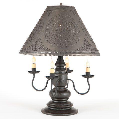 Harrison Table Lamp in Black