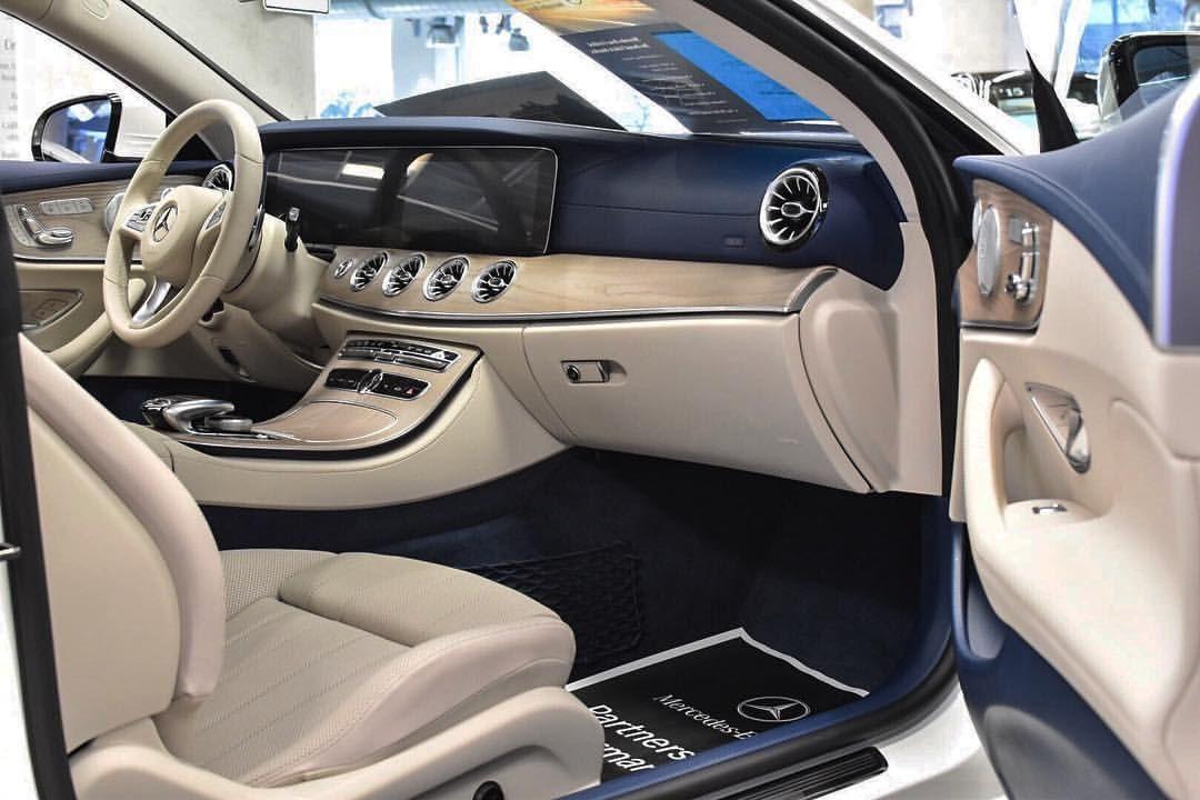 Beautiful New E Class Coupe Interior David Watson