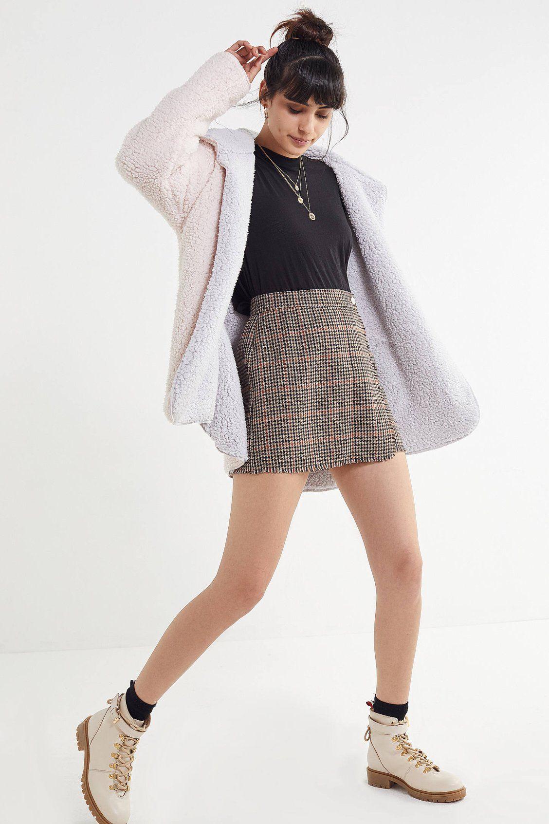 Uo Carmella Cozy Reversible Teddy Coat New Arrivals Pinterest