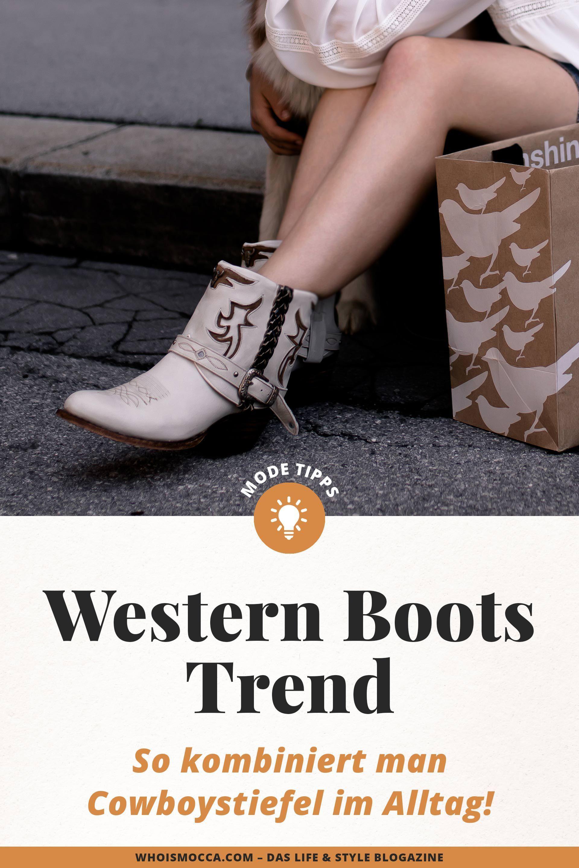 Der Western Boots Trend: So kombiniert man Cowboystiefel im