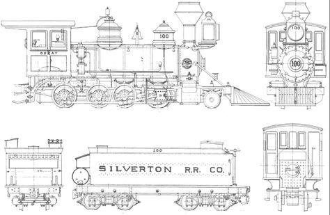 Steam Train Blueprints   loco   Pinterest