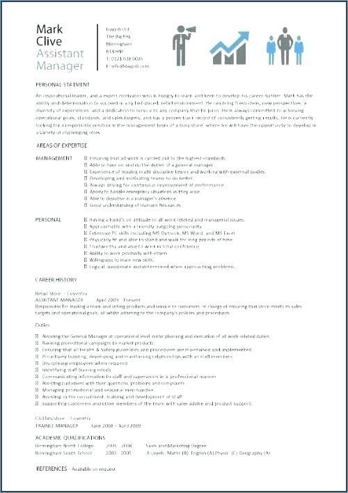 Mcdonalds Manager Resume Assistant Responsibilities Skills