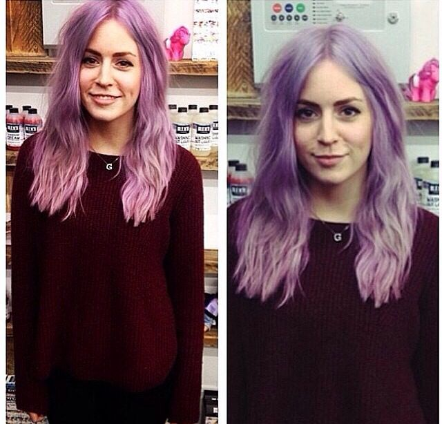 Gemmaaaa I Wanna Just Spend A Day With Her And Get Our Hair Dyed Together Gemma Styles Cool Hairstyles Style