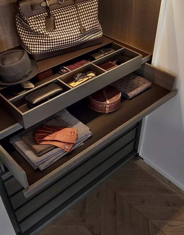 like drawer for belts/scarfs/tie etc