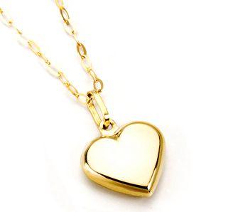 tan baratas envío directo niño Corazón y cadena de oro | Bisuteria | Accesorios de joyería ...