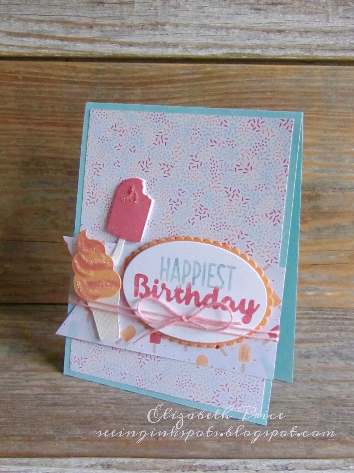 Stampin Up handmade greeting cards home and party decor