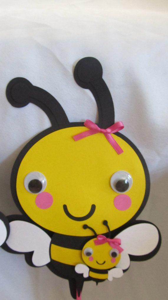 Bumble Bee Baby Shower Centerpiece 3-piece by DreamComeTrueParties