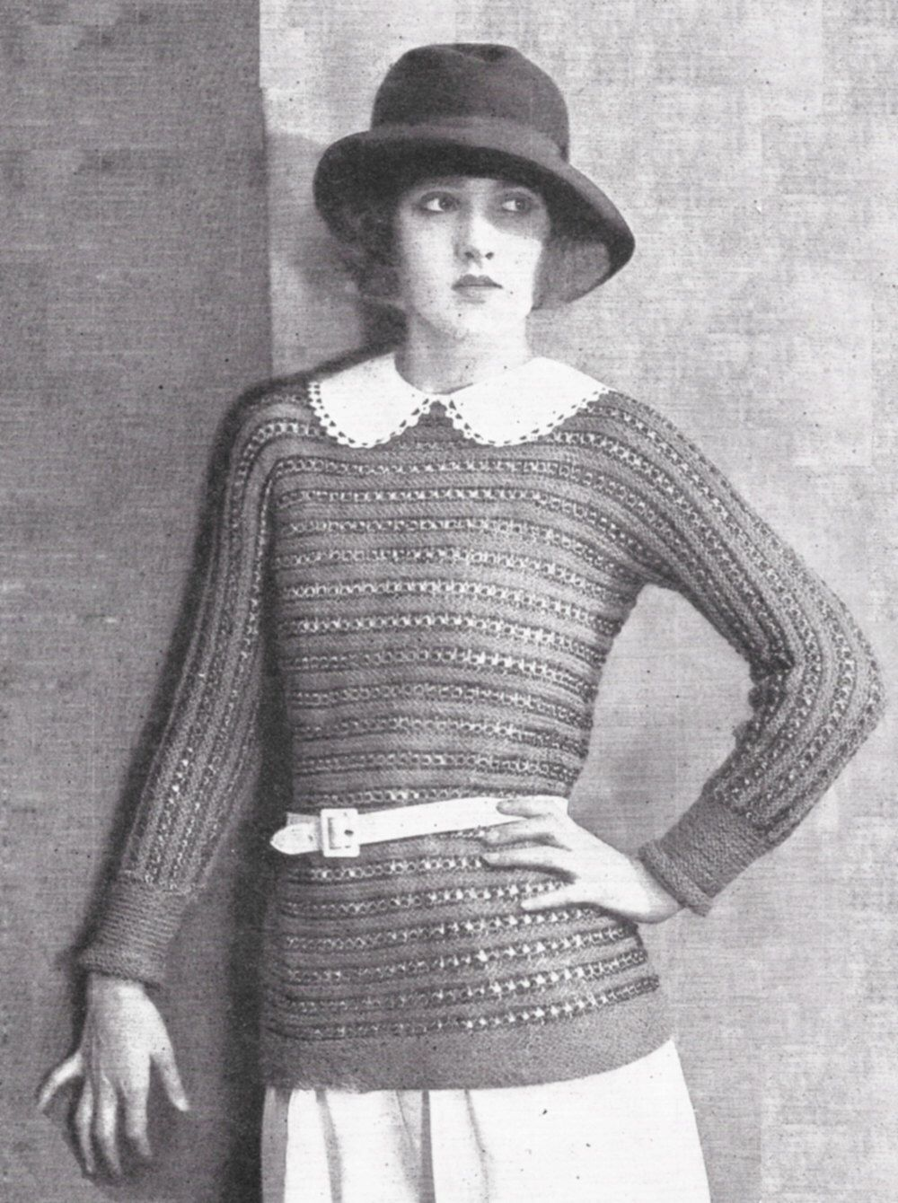 1922 pullover striped sweater 1920s vintage knitting pattern pdf 1922 pullover striped sweater 1920s vintage knitting pattern pdf instant download by livydarling on etsy https bankloansurffo Choice Image