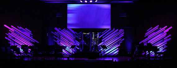 Destroyed Angel Wings | Church Stage Design Ideas | Worship Arts ...