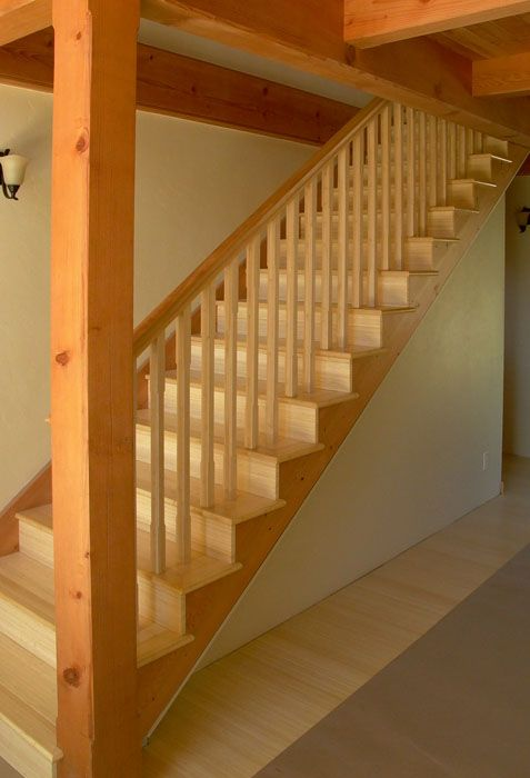 Best Stairway And Railing Bamboo And Douglas Fir Lopez 640 x 480