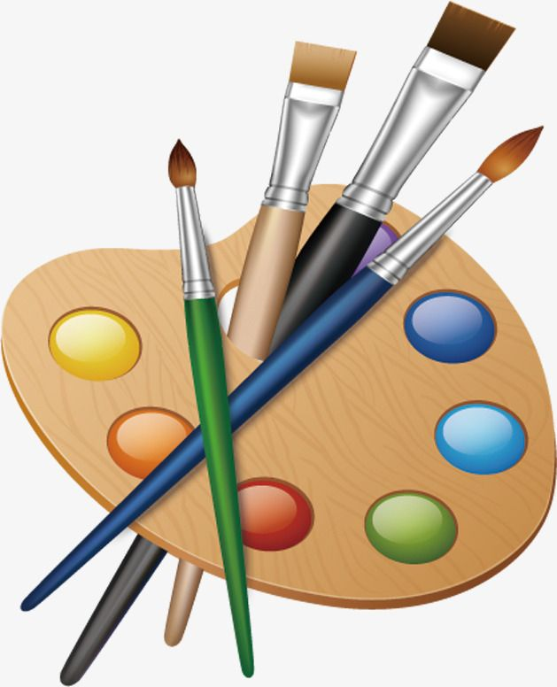 Painting Painting Tools, Tools Clipart, Painting, Cartoon