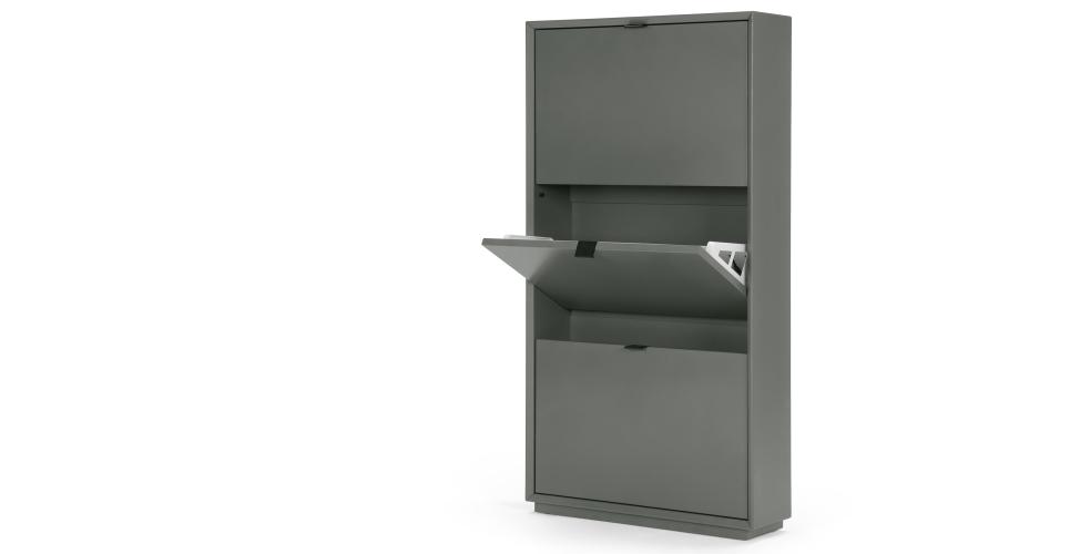 Made Grey Shoe Storage Cabinet Shoe Storage Cabinet Shoe