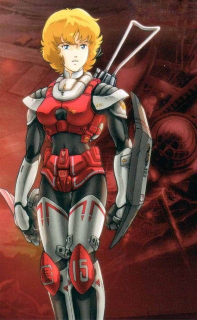 Robotech, Dana Sterling. She was kind of annoying. Why couldn't she be as cool…