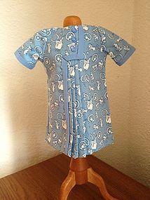 Blue Bleuette Dress ~ 1926 - Lee Feickert - The Little Ones #dollshopsunited