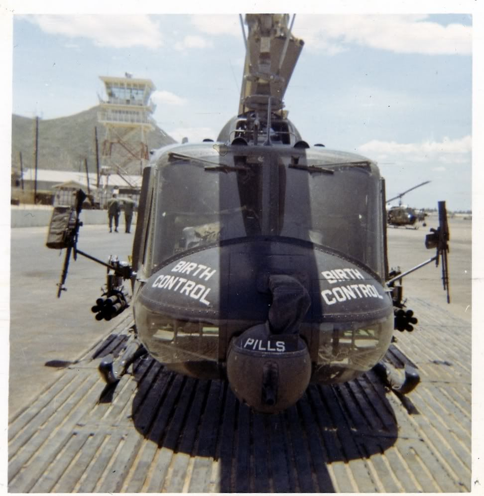 Vietnam Nose Art - Helicopters - Modeling Subjects   Nose