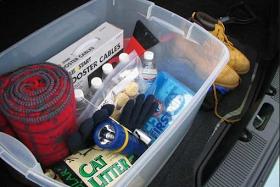 100 Things 2 Do: Vehicle Emergency Preparedness Kit