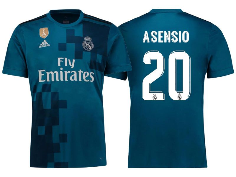 detailed look 9edbc 903a3 Real Madrid 17-18 Third Shirt marco asensio | cheap Real ...