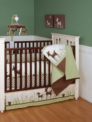 of course a Hunter baby would need a deer room haha