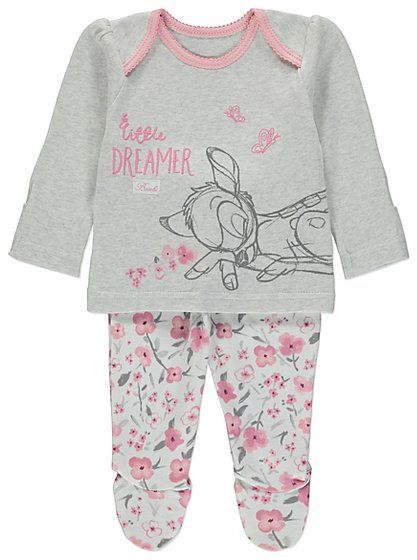 Asda Bambi Baby Clothes