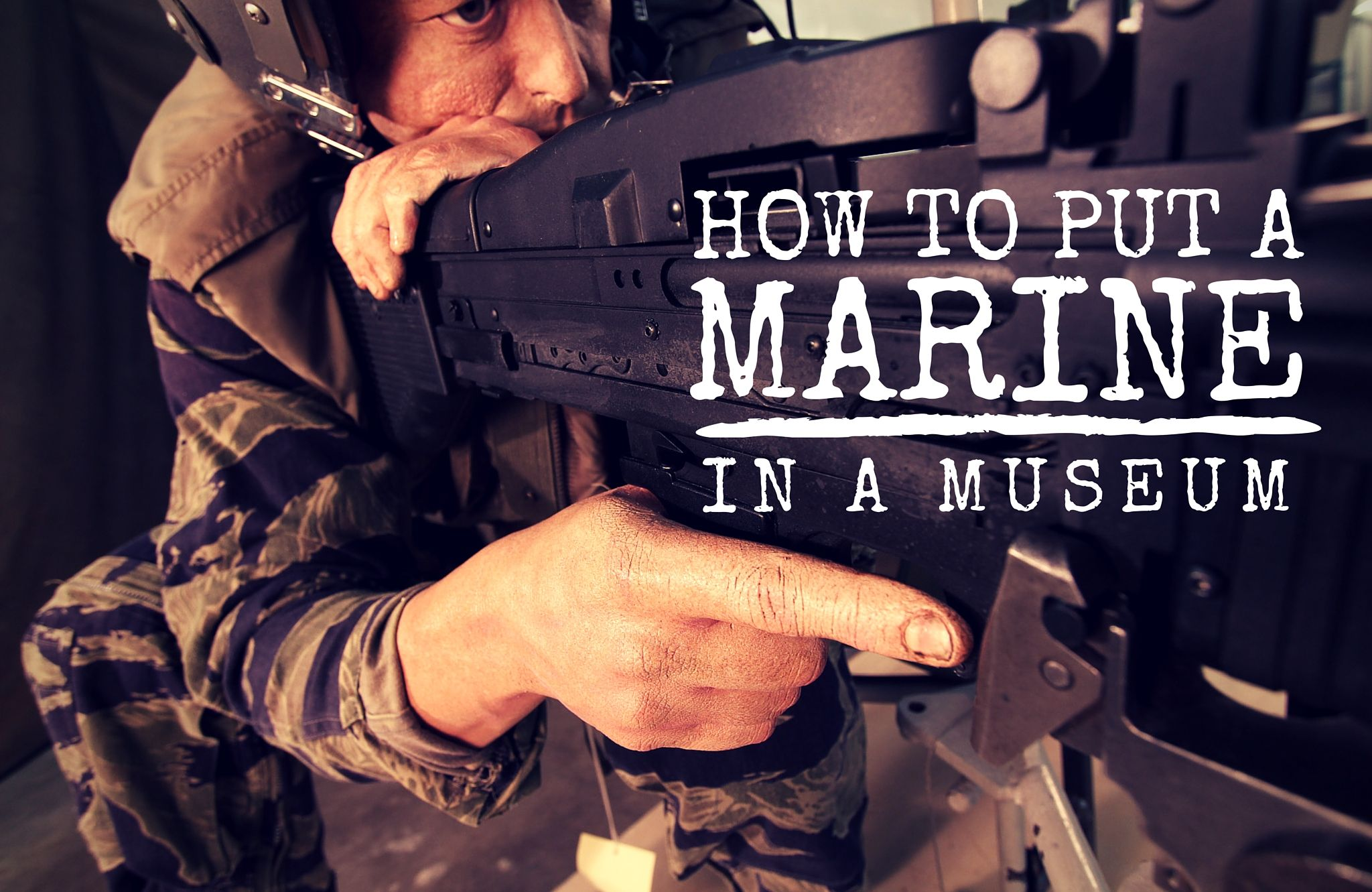 How to Put a Marine in a Museum