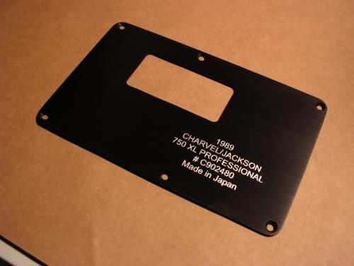 Jackson Tremol No Back Plate | Guitar Back Plates | Back
