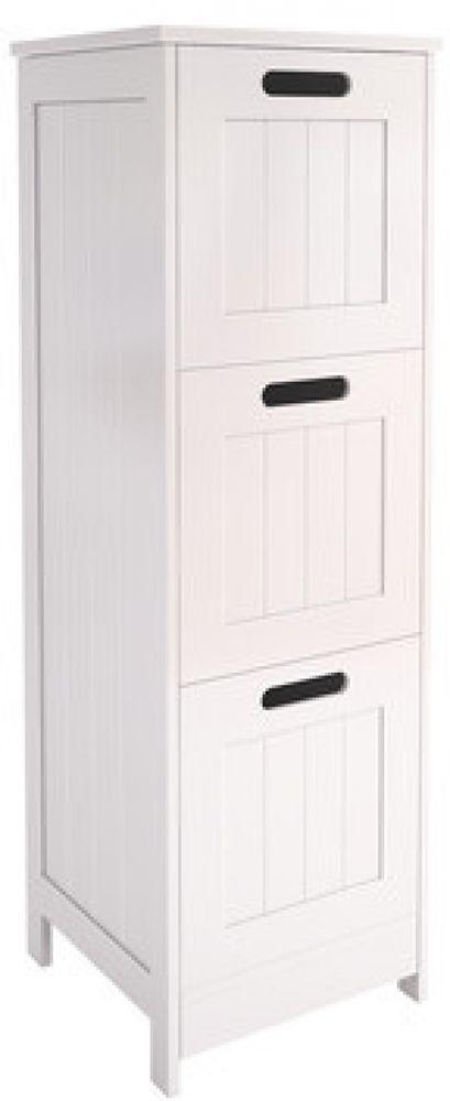 free standing cabinet furniture white bathroom chest storage comfort