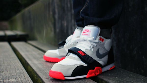 Nike Air Trainer 1 PRM QS Infrared | Shoes | Sneakers nike, Nike ...