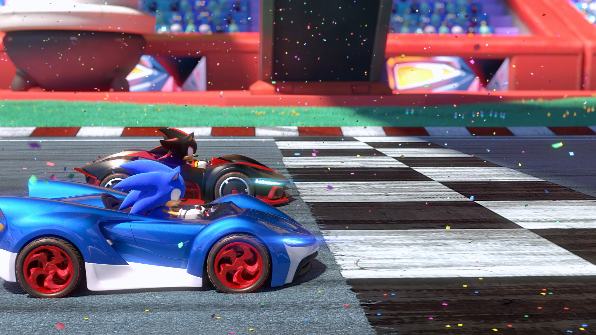 On British Insanity And Cooperation In Staff Sonic Racing Sonic Sonic And Shadow Racing