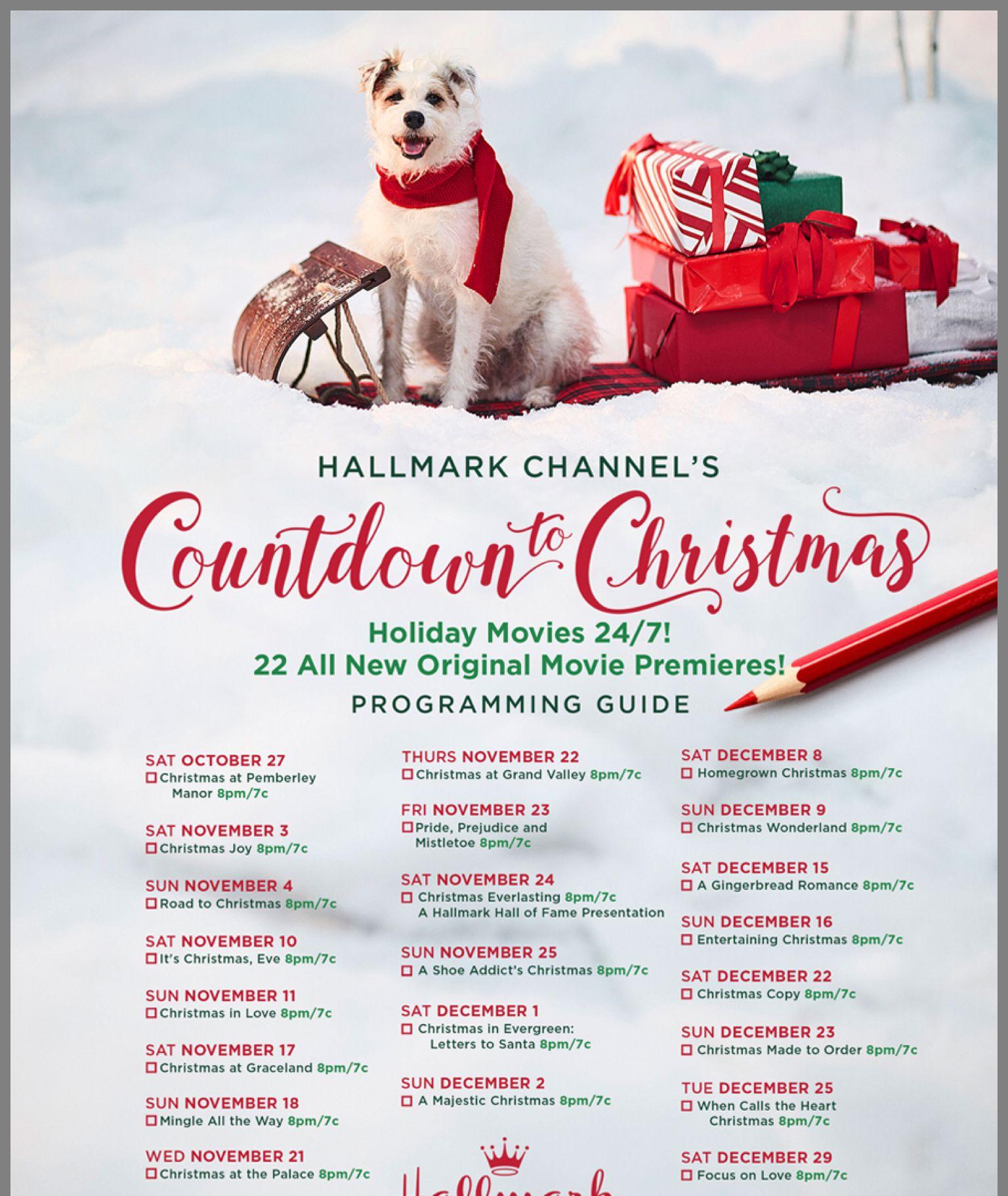 CountdownToChristmas #RubyTuesday #HallmarkChannel #sweepstakes ...