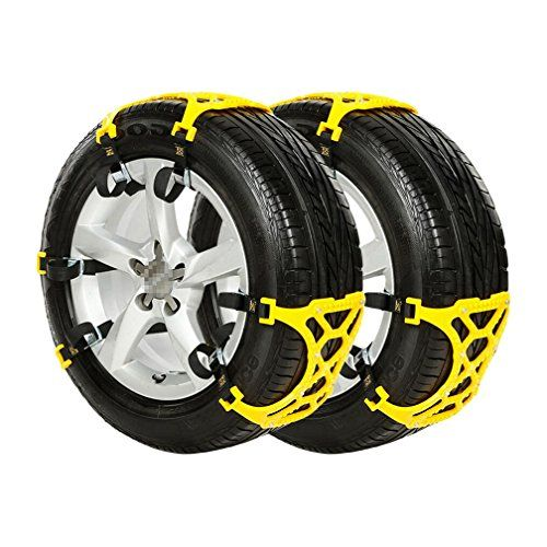 Anti Skid Car Snow Tire Chains Cable Traction Mud Chains for Cars ...