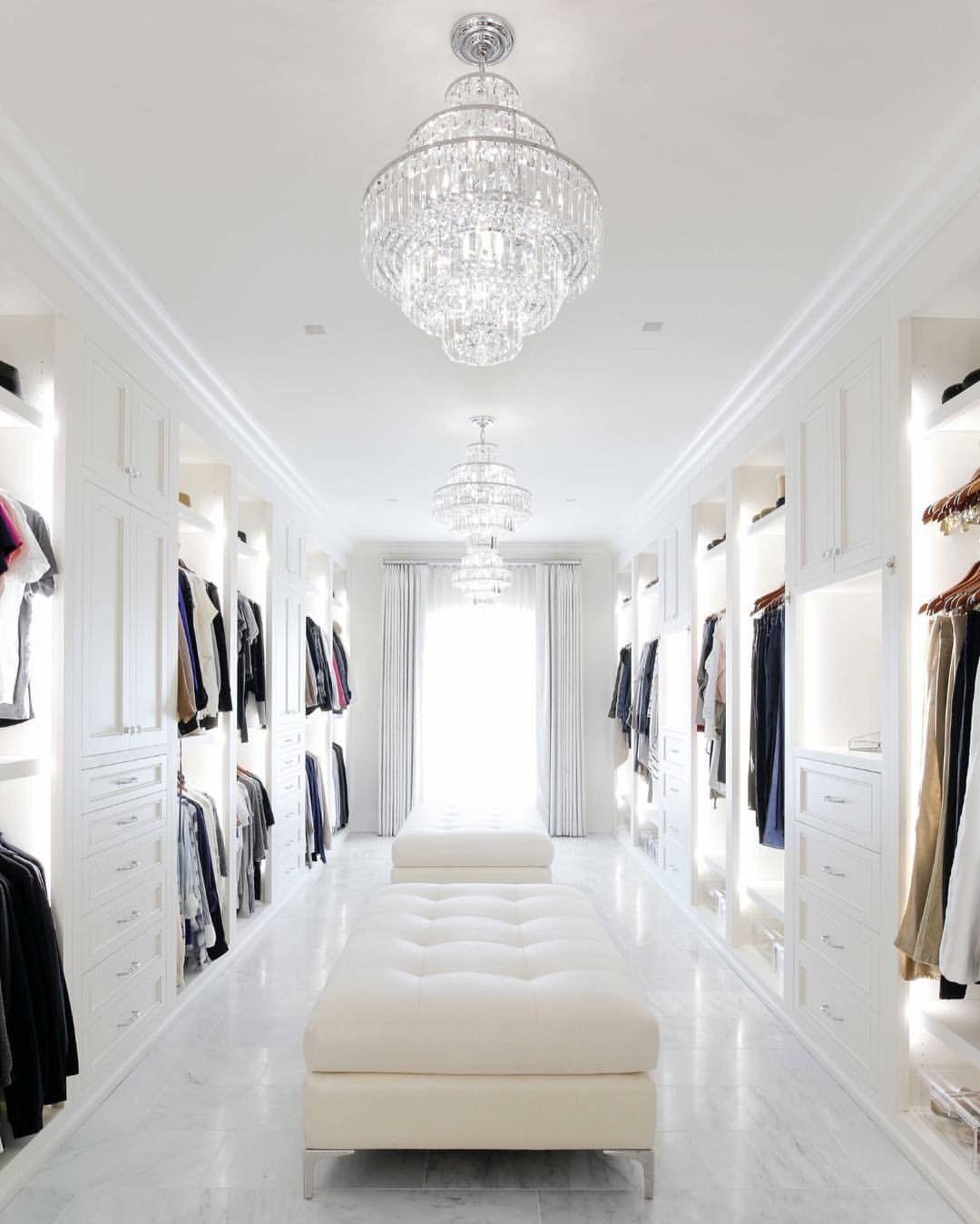 Big Walk In Closet Dressing Room Closet Designs Luxury Closet Closet Decor