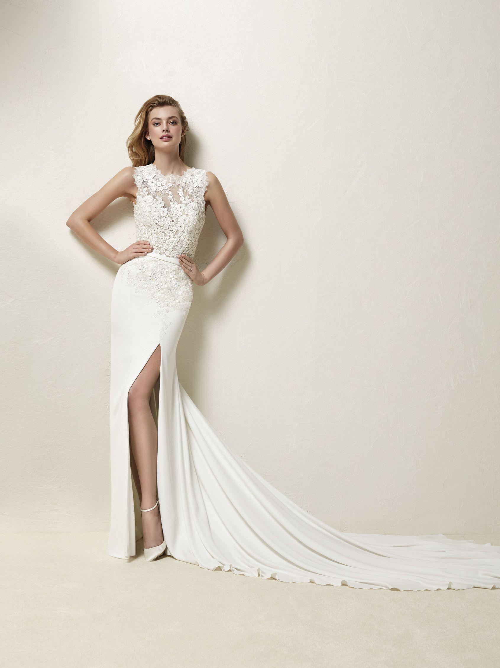 Styles of wedding dresses  Vestido de noiva chantilly  Drenia   Wedding Ideas  Pinterest