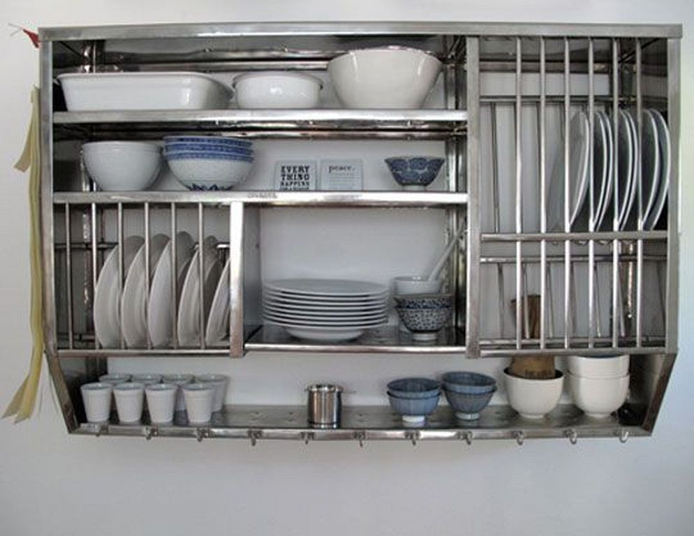 30 Stainless Steel Dish Rack Design Ideas Over Sink
