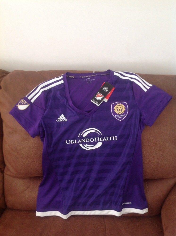 ceef649e6b18f Adidas Orlando city sc mls soccer jersey new with tags size L women |  Sports Mem, Cards & Fan Shop, Fan Apparel & Souvenirs, Soccer-MLS | eBay!