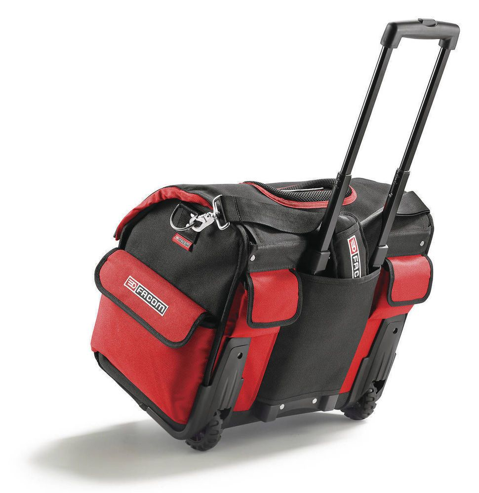 FACOM ROLLER SOFT TOTE BAG TOOLBOX ON WHEELS 33 Litre Material TOOL ...