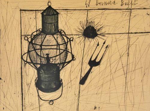 Bernard Buffet (French, 1928-1999) - Still Life, 1949