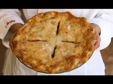Pie Crust Recipe Baking Tutorial Demonstration How to
