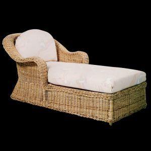 Wicker Chaise Lounge Wicker Chaise