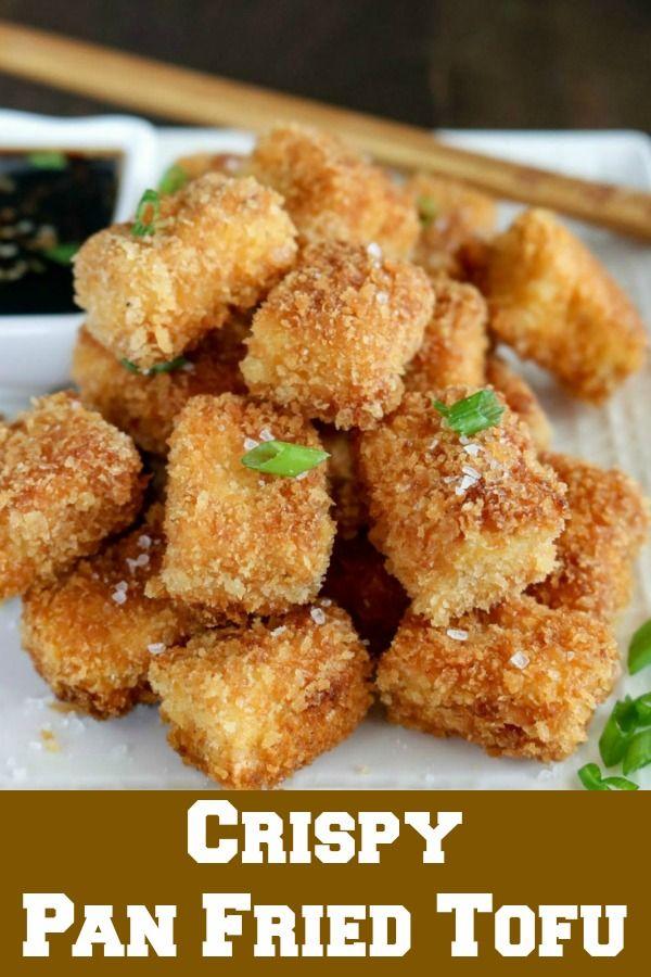 Crispy Pan Fried Tofu | Karyl's Kulinary Krusade
