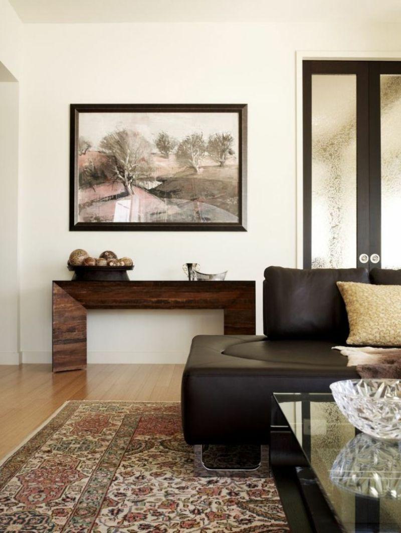 Orientteppich als Akzent im Interieur – 21 Beispiele   Wohnzimmer ...