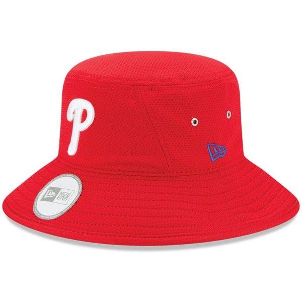 New Era Philadelphia Phillies Redux Bucket Hat Red Bucket Hat Philadelphia Phillies New Era
