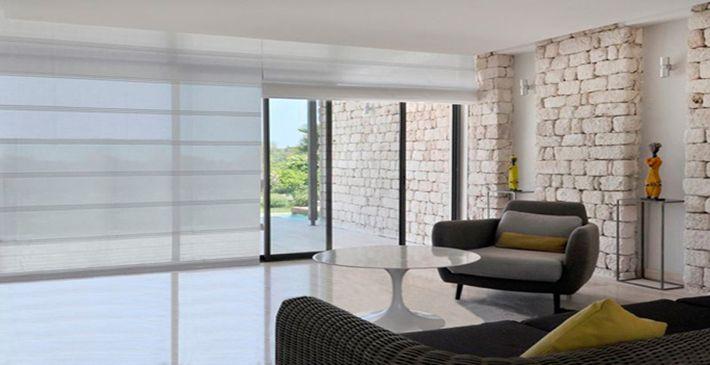 Populaire Les stores shoji-look pour les baies vitrées de toutes tailles  KV22