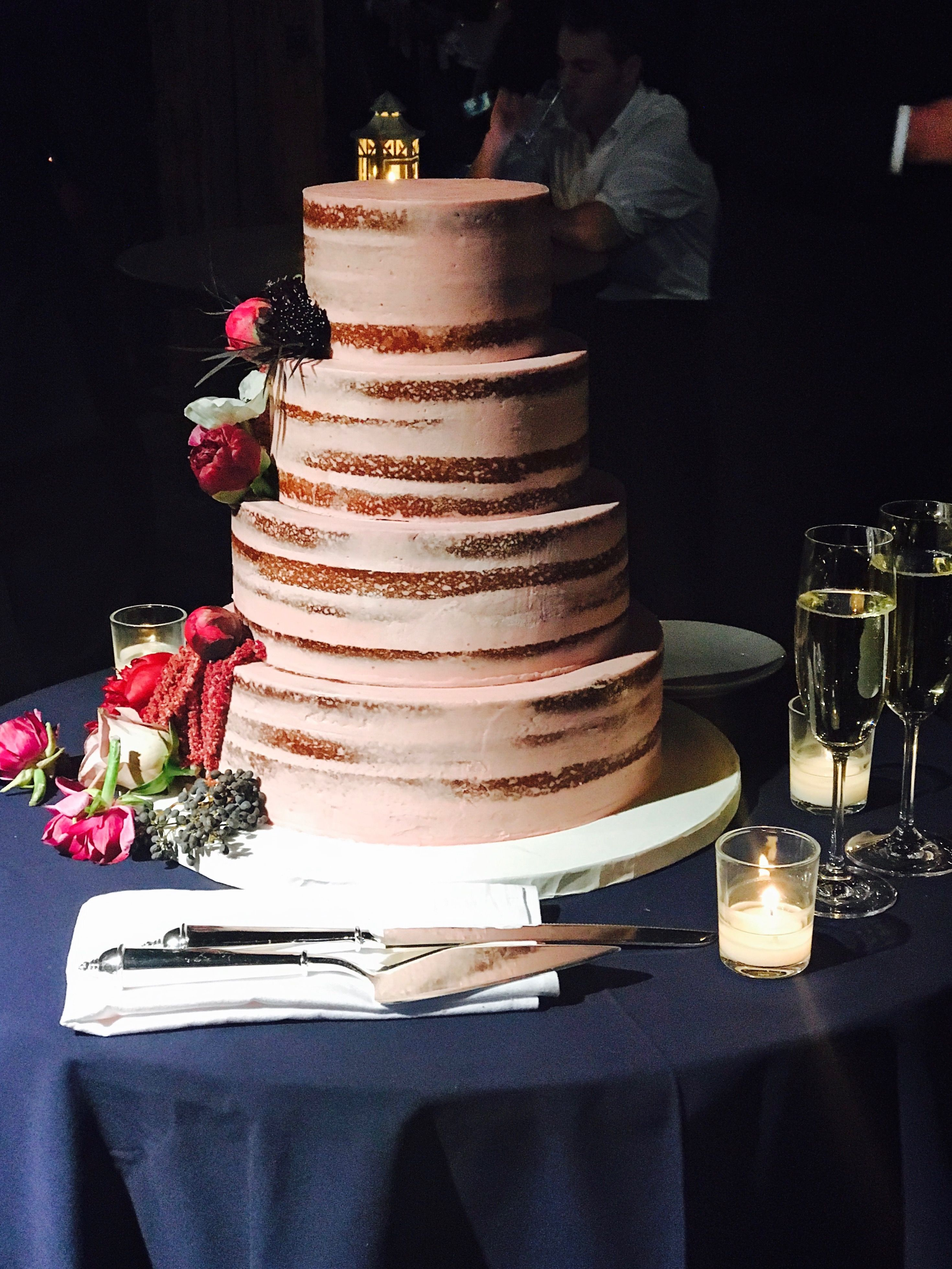 Naked cake, naked wedding cake, wedding cake, fresh ... - photo#26