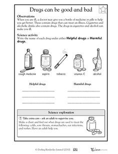 relationship to drugs and alcohol worksheets