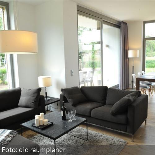 Wohnzimmer modern & natürlich | Ideen Raumgestaltung | Pinterest ...
